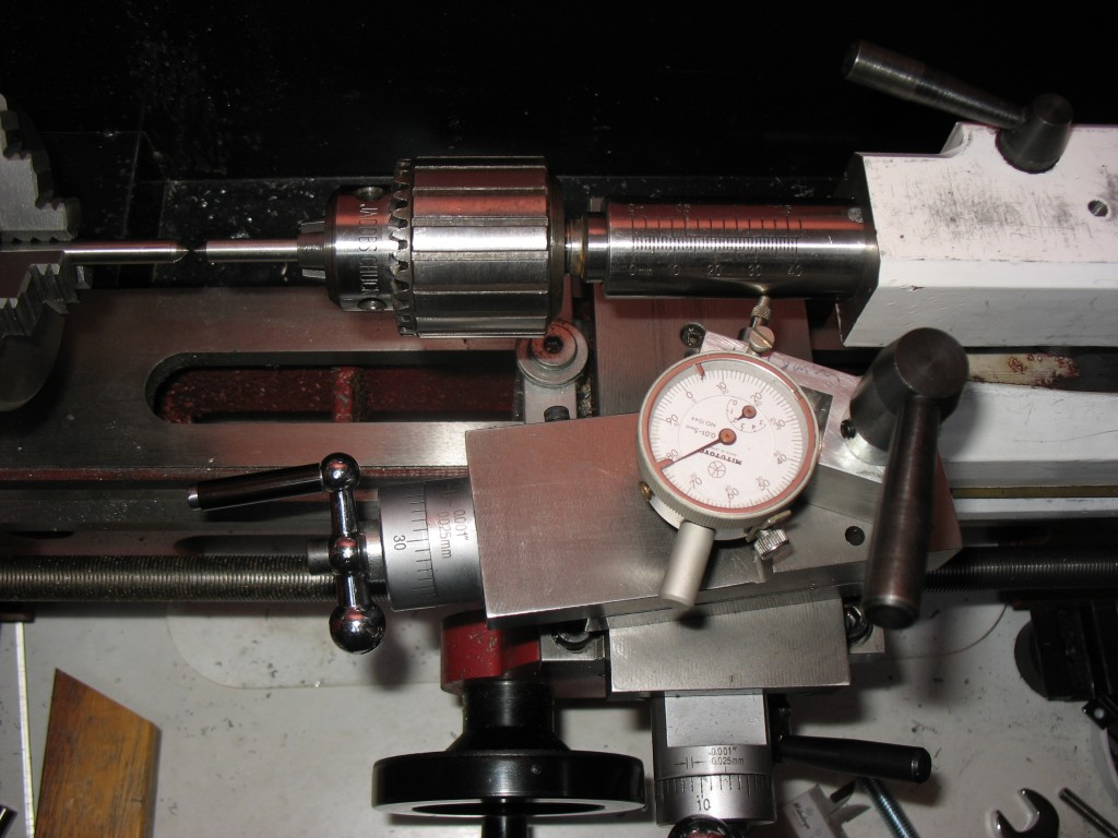 Tailstock adjustment